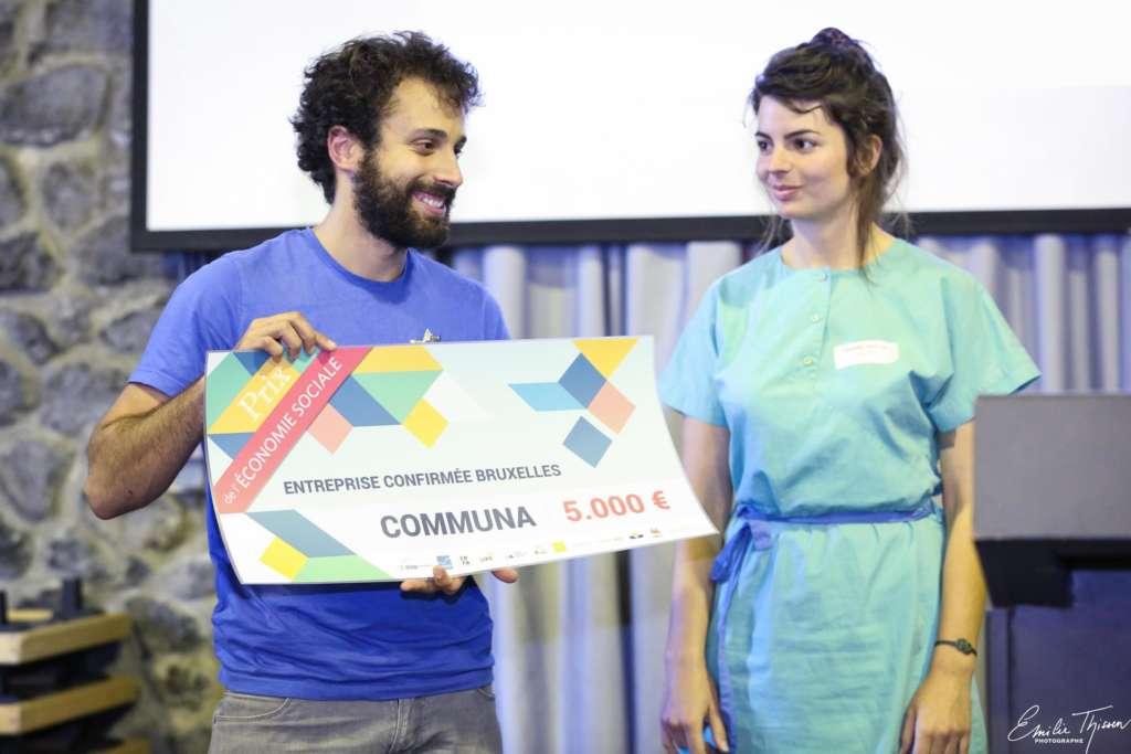 Prix de l'économie sociale 2018 Communa