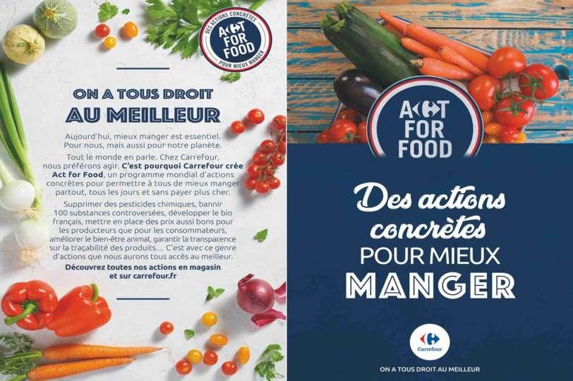 © Publicité mensongère de Carrefour